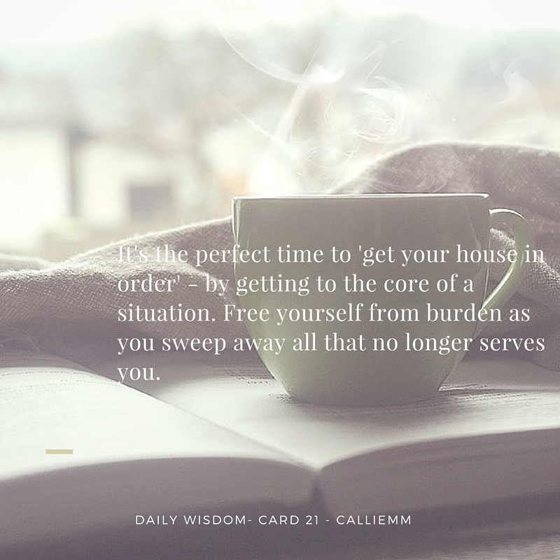 Oracle Wisdom