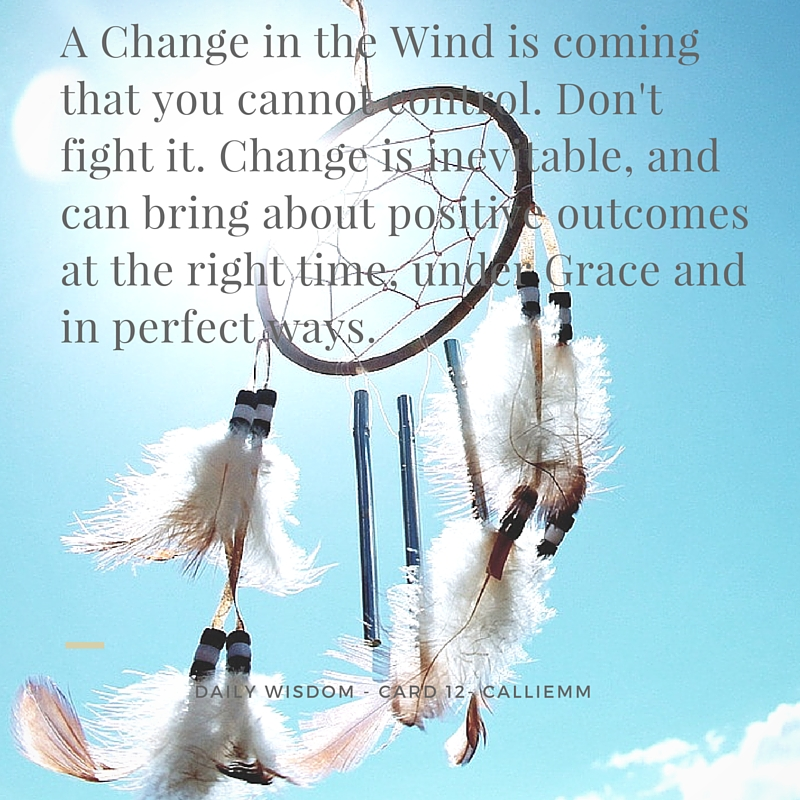 A Change in the Wind